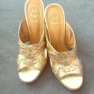 Brand new without tag Jack Rogers wedge sandals